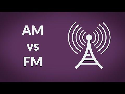 Am vs FM radio