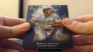 2018 Topps Inception Baseball 8 Box Half Case Break 8-17-2018 (1/1 AUTO & CASE HITS!)