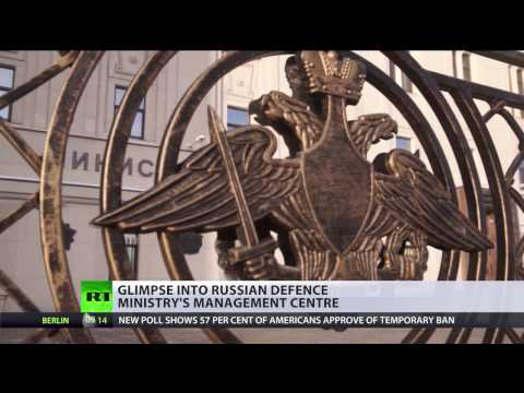 Inside Russian 'Pentagon': Glimpse into MoD management center