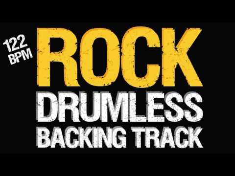 Rock Backing Track For Drums 122 BPM
