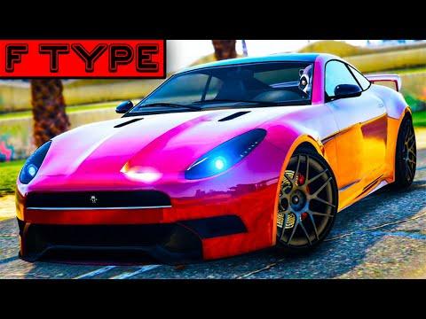 MY DREAM CAR!!! - JAGUAR F-TYPE/OCELOT LYNX CUSTOMISATION (GTA Online Cunning Stunts)