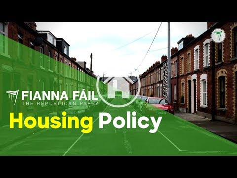 Fianna Fáil's Policy To Fix The Housing Crisis