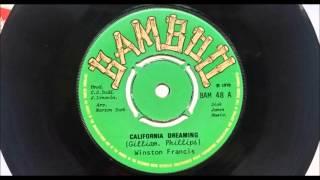 Winston Francis  California Dreaming