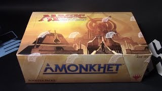 mtg amonkhet booster whole box opening lets start cracking first box