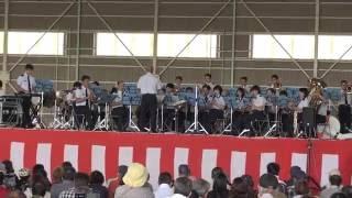 2016芦屋基地航空祭・西部航空音楽隊演奏 「ブルーインパルス」