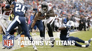 Falcons vs. Titans | Week 7 Highlights | NFL