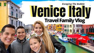 Venice Italy | Travel Family Vlog after lockdown!