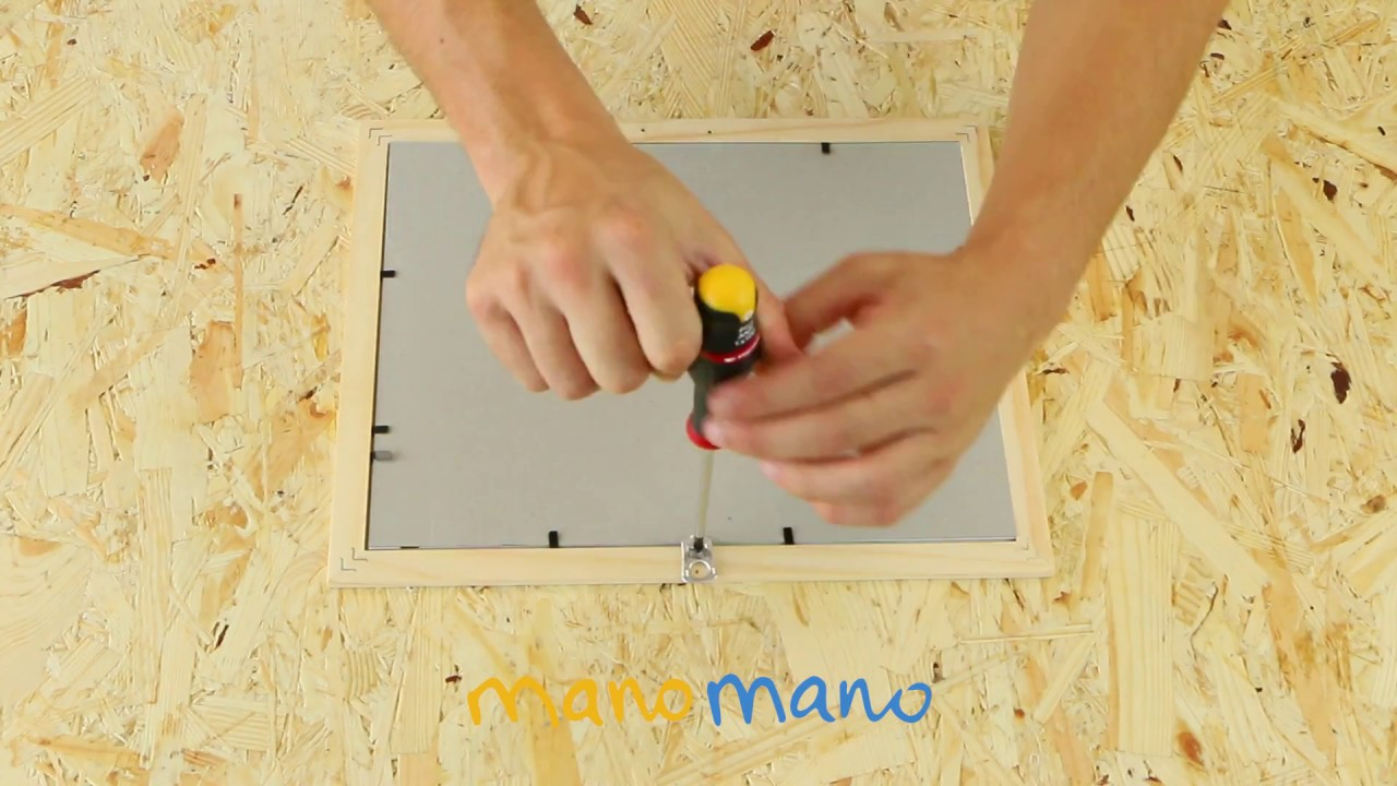 Come Appendere Un Quadro Con Una Lattina Manomano It Youtube