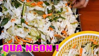 Làm Dưa Bắp Cải Kiểu Này Mới Ngon | Hồn Việt Food