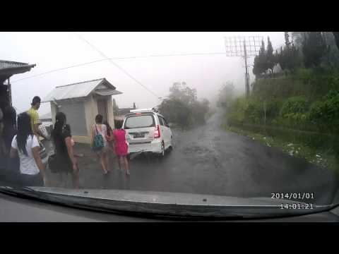 KINTAMANI→DANAU BATUR Car Mounted Camera BALI ISLAND車載カメラ キンタマーニ→バトゥール湖