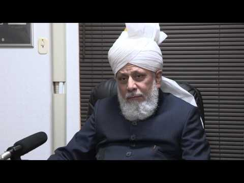 Huzoor's (atba) Interviews with the Japanese Media