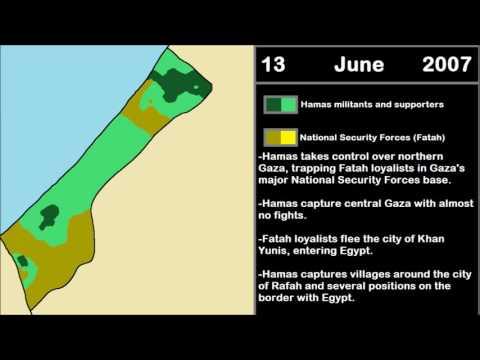Palestinian Civil War - Hamas' takeover of the Gaza Strip