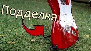 видео Электрогитары Fender Stratocaster