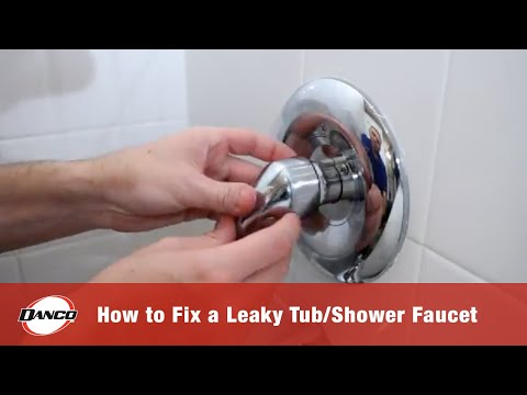 How to Fix a Leaky Tub Shower Faucet   YouTube. Fix Bath Faucet Shower. Home Design Ideas
