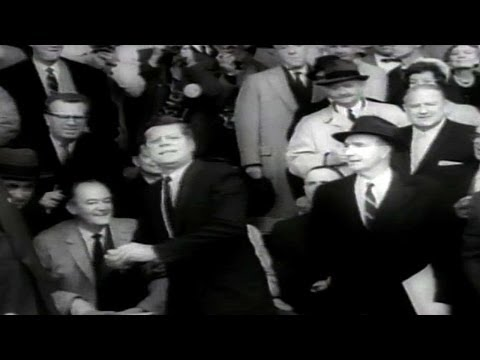 CWS@WSH: President Kennedy throws out first pitch