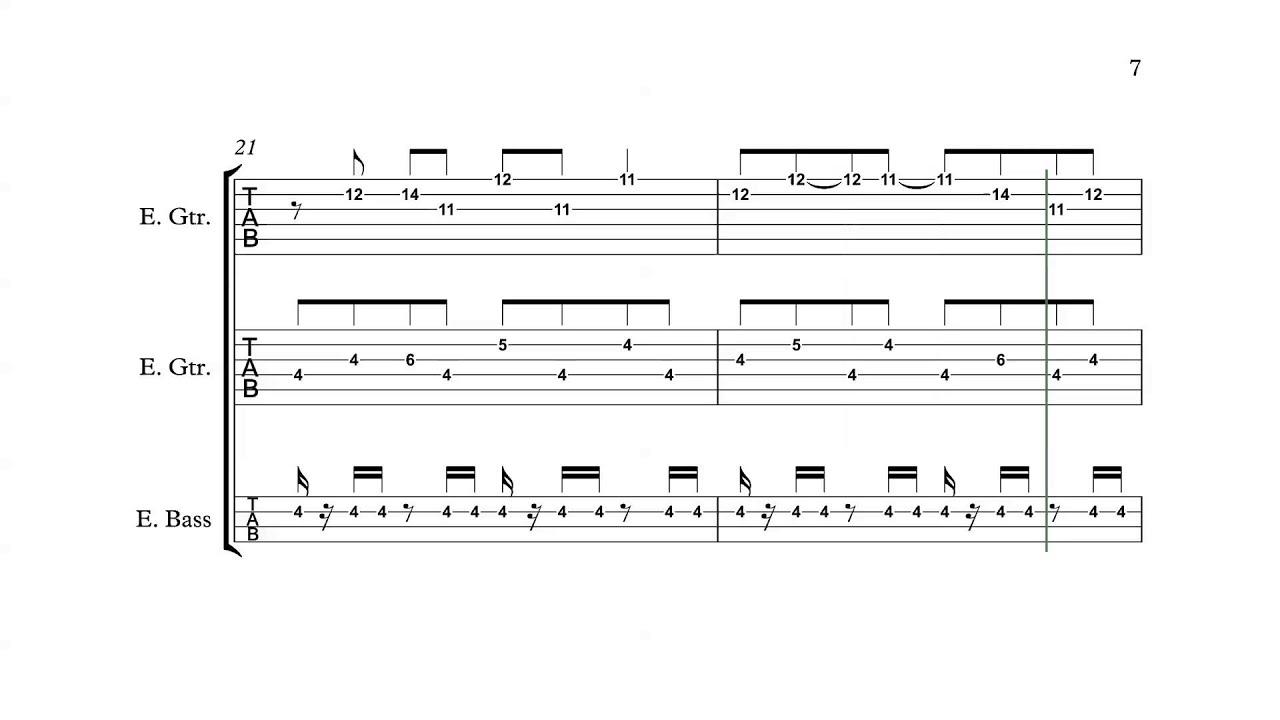 Mega Man 3 Nes Title Theme Guitarbass Tabs Chords Youtube