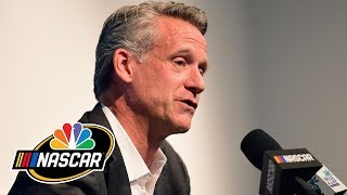 NASCAR president Steve Phelps discusses playoffs, new vehicle coming 2021 | Motorsports on NBC