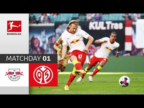Rb Leipzig 1 Fsv Mainz 05 3 1 Highlights Matchday 1 Bundesliga 2020 21 Youtube