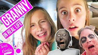 Granny Horror Game in Real Life!! - Real Granny!!