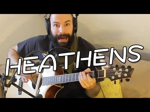 Twenty One Pilots: Heathens (from Suicide Squad: The Album) - Fingerstyle Cover By Dustin Prinz