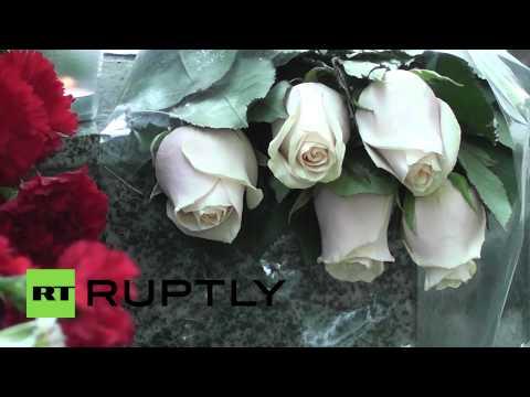 Russia: Slavyansk tribute added to Kiev monument in Sevastopol