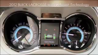 Buick Vehicles e Assist 2012 Drive more efficiently