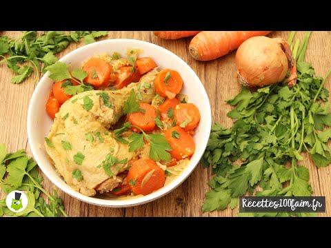 recette-|-couscous-(facile)-poulet,-carottes-&-oignons