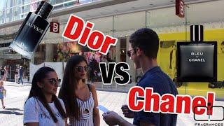 Bleu de Chanel vs Dior Sauvage    fragrance test