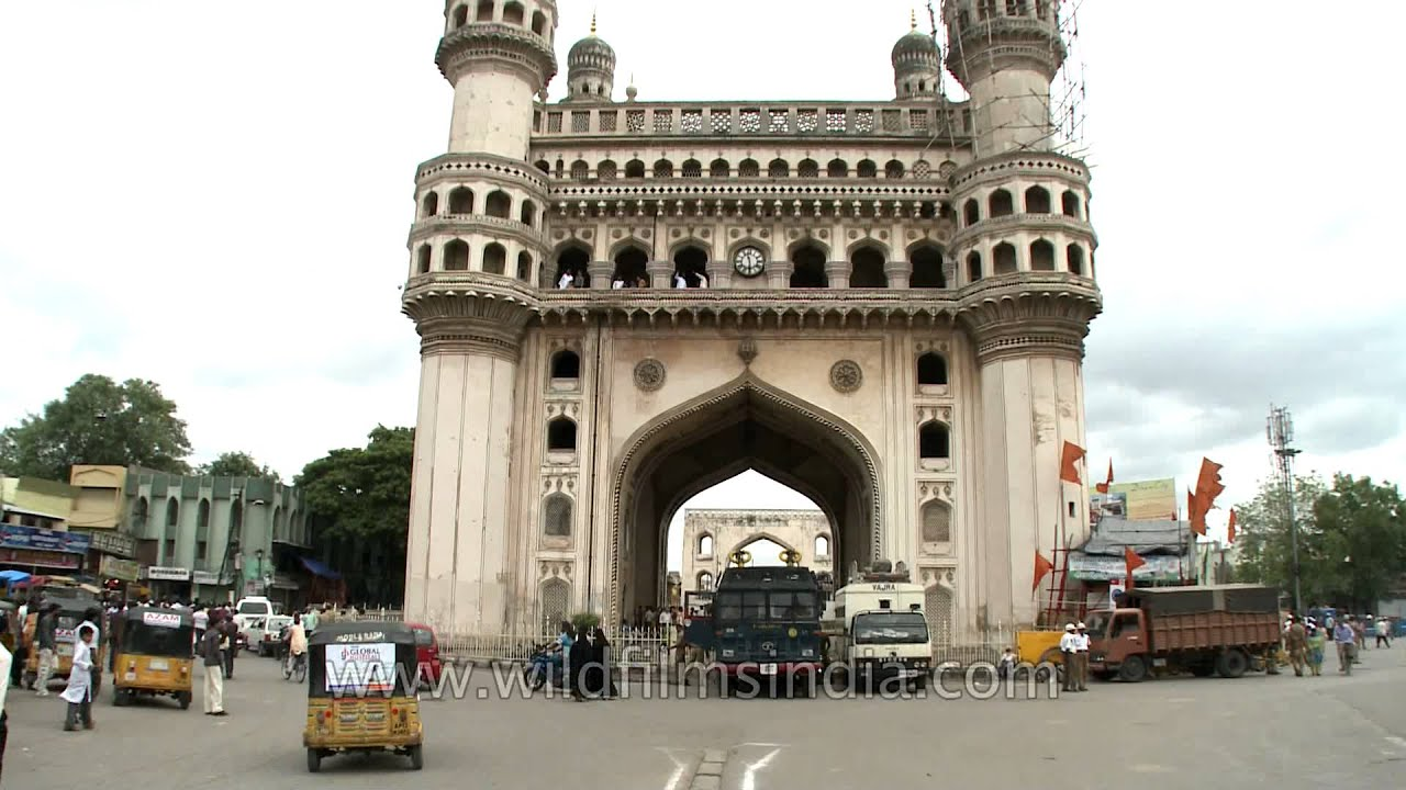 Charminar - heritage galore in Hyderabad - YouTube