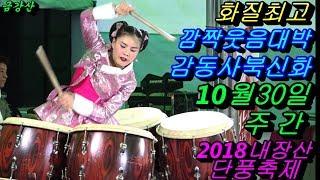 💗버드리 젊은 수컷에 깜짝놀라 홀딱 반하다💗 10월30일 주간 2018 내장산 단풍축제 초청 공연