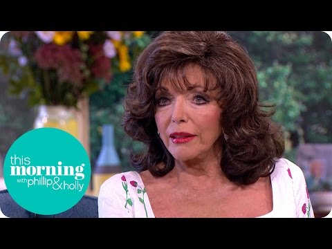 Dame Joan Collins Emotionally Talks About Her Sister Jackie  This Morning