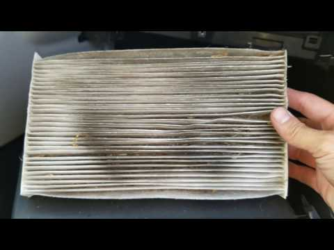 How to replace Nissan Sentra Cabin Filter 2016