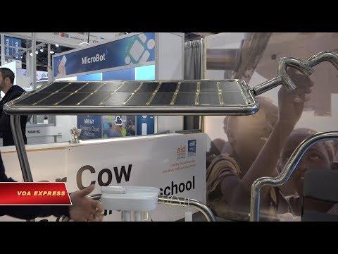 Những công nghệ độc đáo tại Triển lãm hàng điện tử ở Las Vegas (VOA)