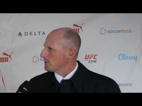 APTV Post Game Interview w/ Albion PROS Head Coach vs City of Angels FC