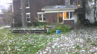 June 13 2012 hail storm in Dallas