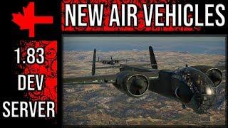 War Thunder Dev Server - Update 1.83 - New Air Vehicles