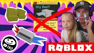 BAR WHAT DID YOU DO?! + SHOES & CONTAINER-Bee Swarm Simulator | Roblox | Daddy and Barunka CZ/SK