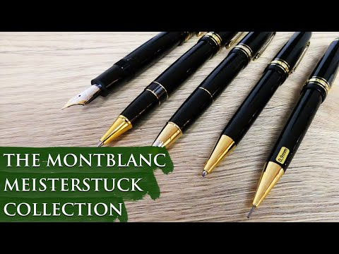 The Montblanc Meisterstuck Collection Overview