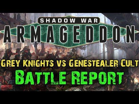 Shadow War  Armageddon Campaign Game 3 - Grey Knights vs Genestealer Cult