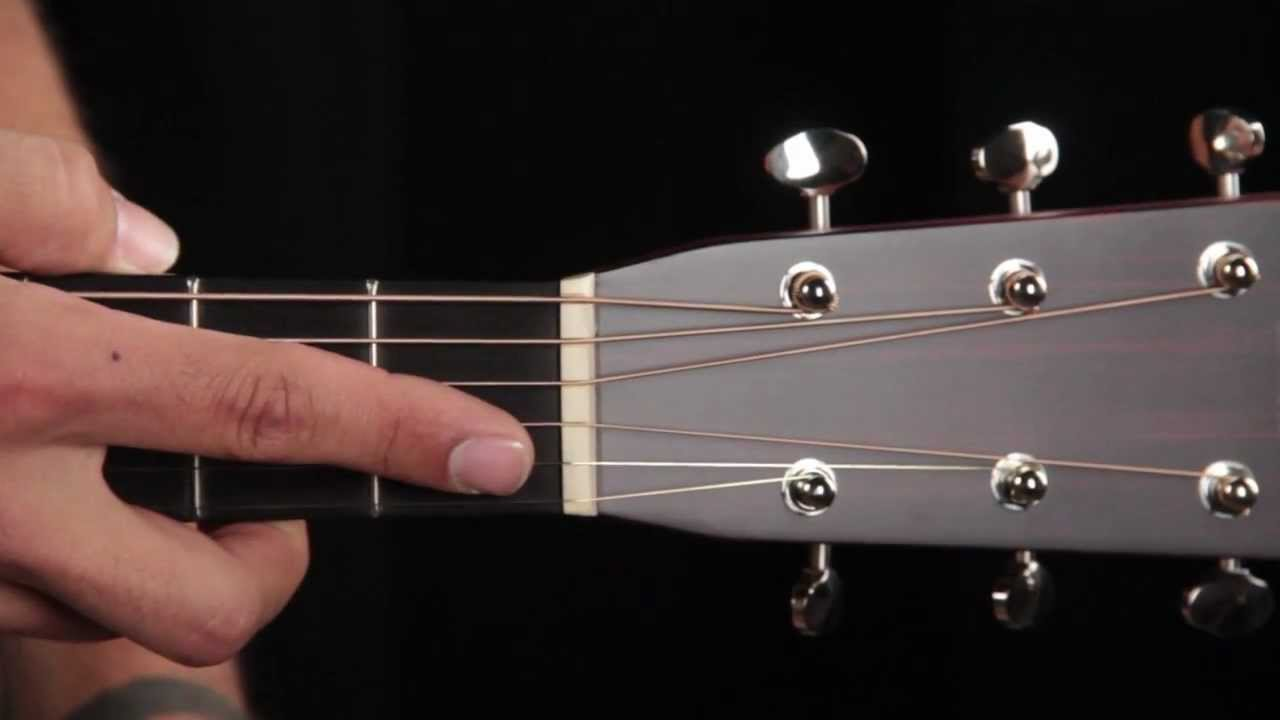 Guitar Nut - Acoustic Guitar Anatomy - YouTube
