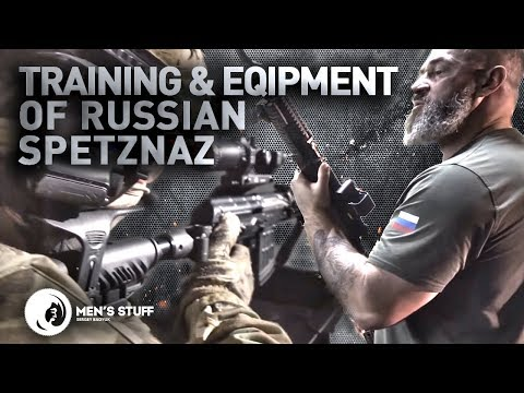 Training And Equipment Of Russian Special Forces | Men's Stuff ENG Version (англ.версия)