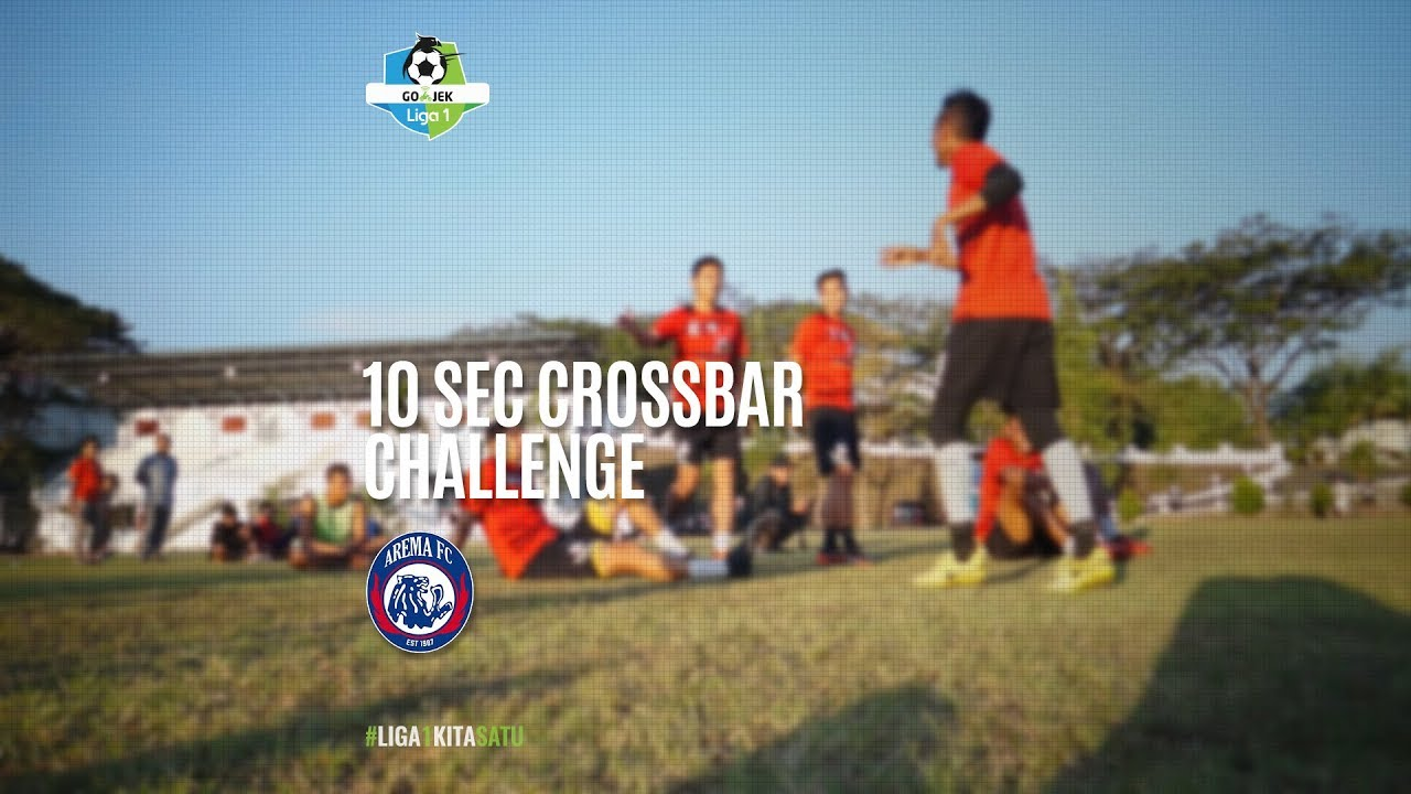 [10 Second Crossbar Challenge] Arema FC 3