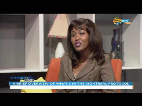 Rwanda hosts 28th Meeting of Parties to the Montreal Protocol.