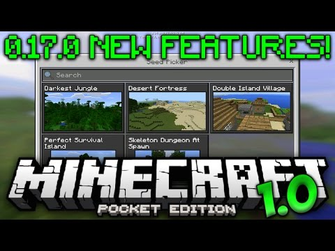 NEW 0.17.0 UPDATE FEATURE! - MCPE 1.0 Beta Build 2 - Minecraft Pocket Edition