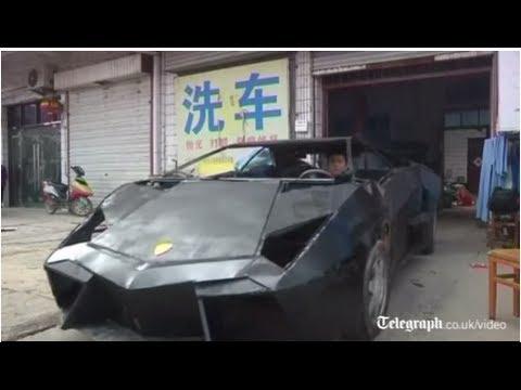 Good Chinese Man Builds Replica Lamborghini