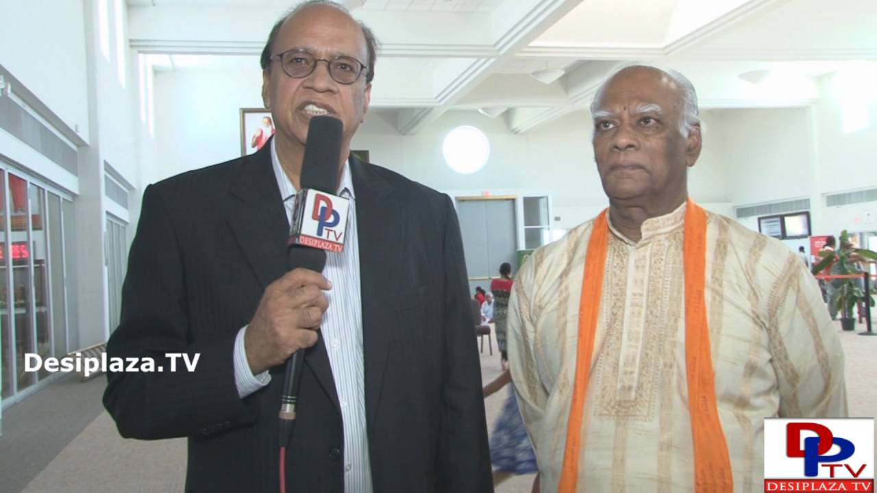 Mr.Ashok Mago, Founder President of US India Chamber of Commerce speaking to Desiplaza TV