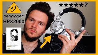 The Best Cheap DJ Headphones? (Behringer HPX2000 Review)