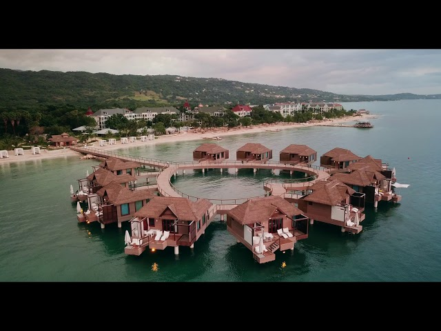 Christmas at Sandals South Coast, Jamaica 2017