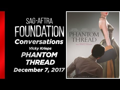 Conversations with Vicky Krieps of PHANTOM THREAD