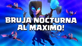 300,000 GEMS IN CHESTS, NIGHT WITCH TO THE MAXIMUM AND ANNOUNCEMENT!! -Clash Royale